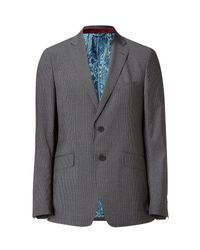 Etro | Gray Anthracite Pin Striped Jacket for Men | Lyst