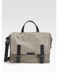 Marc By Marc Jacobs | Natural Simple Leather Robbie G Messenger Bag for Men | Lyst