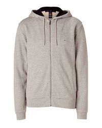 Marc By Marc Jacobs | Gray Heather Grey Washed Hoodie Jacket for Men | Lyst