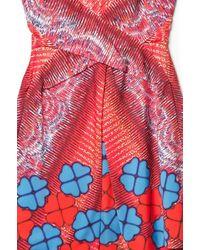 Peter Pilotto   Red Hearts Mv Dress   Lyst