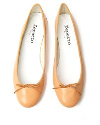 Repetto - Natural Bb Ballet Flat - Lyst