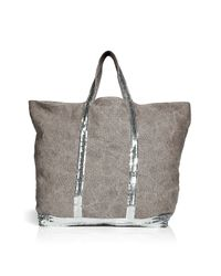 Vanessa Bruno | Brown Large Linen Tote | Lyst