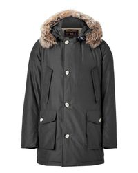 Woolrich | Faded Black Arctic Parka Df for Men | Lyst