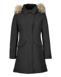 Woolrich - The Vail Black Down Coat - Lyst