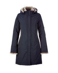 Woolrich | The Luxury Boulder Midnight Blue Down Coat | Lyst