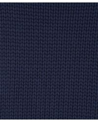 Acne Studios - Blue Navy Shore Cotton Oversized Knit - Lyst