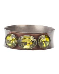 Marni | Metallic Gem Bangle | Lyst