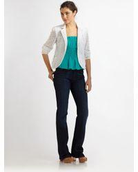 Nanette Lepore | White Acrobat Jacket | Lyst