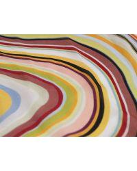 Paul Smith | Multicolor Multi Swirl Silk Habotai Scarf | Lyst