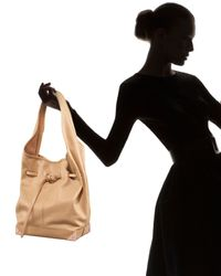 Alexander Wang | Brown Robyn Belted Hobo, Toffee | Lyst
