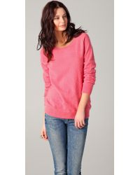Acne Studios | Pink Ry Angora Sweater | Lyst