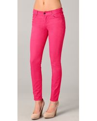 Citizens of Humanity | Pink Thompson Medium Rise Skinny Jeans | Lyst