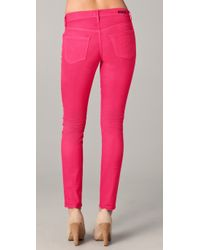 Citizens of Humanity - Pink Thompson Medium Rise Skinny Jeans - Lyst