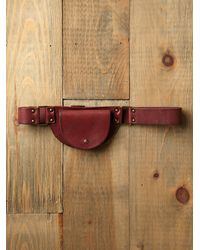 Free People | Brown Cara Pocket Hip Belt | Lyst