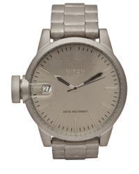 Nixon | Gray Chronicless Raw Steel Watch for Men | Lyst