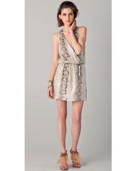 Parker | Multicolor Python Sequined Dress | Lyst