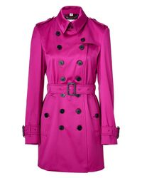 Burberry | Purple Magenta Pink Westland Trench Coat | Lyst