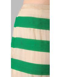 By Malene Birger   Multicolor Miralli Striped Skirt   Lyst