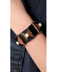 Marc By Marc Jacobs Brown Bonkers Stretch Bracelet