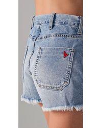 M.i.h Jeans - Blue Halsy Cutoff Shorts - Lyst