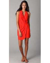 Parker | Red Wrap Dress | Lyst
