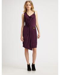 Rag & Bone - Purple Eugenia Dress - Lyst