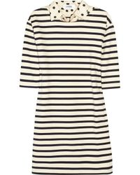 Sonia by Sonia Rykiel | Natural Striped Cotton Dress | Lyst