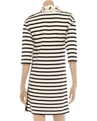 Sonia by Sonia Rykiel   Beige Striped Cotton Dress   Lyst