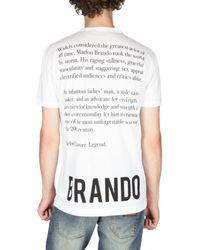 Dolce & Gabbana | White Marlon Brando Print Jersey T-shirt for Men | Lyst