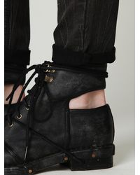 Free People - Black Jeffrey Campbell Womens Romie Boot - Lyst