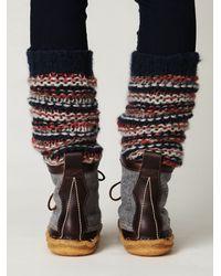 Free People   Gray Mendocino Hunt Boot   Lyst