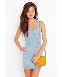 Nasty Gal | Blue Raha Denim Dress | Lyst
