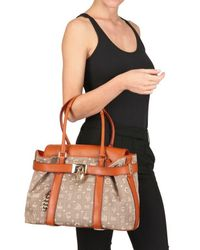 Lancel | Brown Dali Chic Canvas Top Handle | Lyst