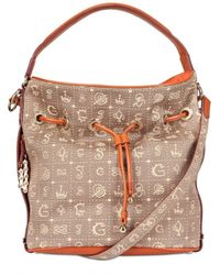 Lancel - Brown Dali Gala Monogram Canvas Shoulder Bag - Lyst