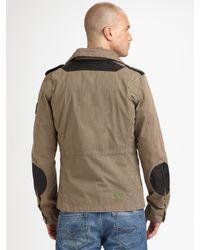 DIESEL | Brown Jantares Jacket for Men | Lyst