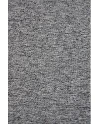 TOPSHOP | Gray Speckle T-shirt Dress | Lyst
