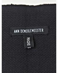 Ann Demeulemeester - Black Mens Tito Scarf for Men - Lyst