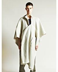 Damir Doma - Gray Mens Coron Cape for Men - Lyst