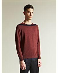 Dries Van Noten | Purple Mens Wool And Silk Blend Sweater for Men | Lyst