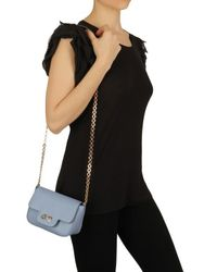 Ferragamo | Blue Fancy Mini Shoulder Bag | Lyst