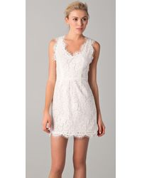 Joie | White Rori Lace Dress | Lyst