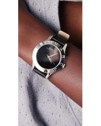 Marc By Marc Jacobs | Metallic Blade Etched Logo Watch | Lyst