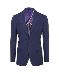 Paul Smith | Blue Byard Half-lined Linen Jacket for Men | Lyst