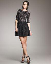 Rachel Zoe | Black Amanda Lace Dress | Lyst
