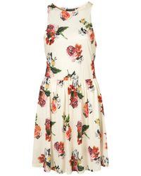 TOPSHOP - Multicolor Rosey Posey Georgia Dress - Lyst