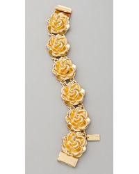 Tuleste Metallic Rosette Bracelet
