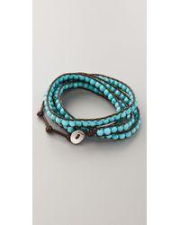 Chan Luu | Blue Turquoise Wrap Bracelet | Lyst