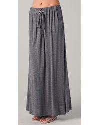 Cheap Monday | Gray Ally Long Skirt | Lyst