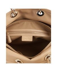 Dior | Natural Cannage Leather Granville Tote | Lyst