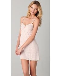 Eberjey   Pink Cats Meow Chemise   Lyst